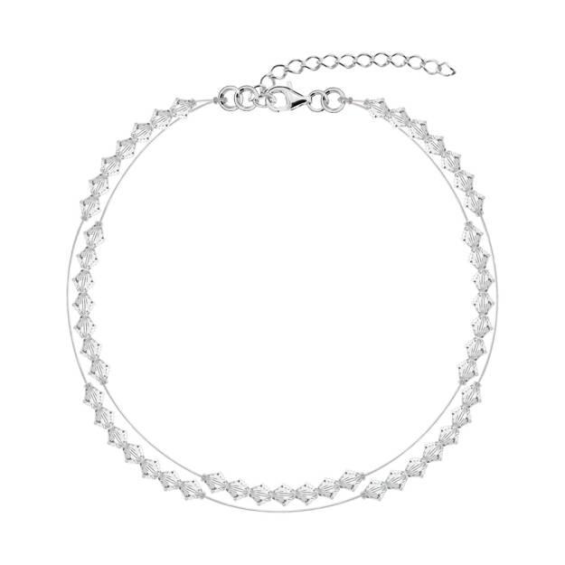 Bransoletka  kryształy  biżuteria ślubna